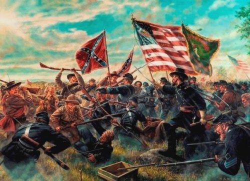 69th PVI at Gettysburg
